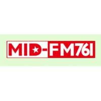 Logo of radio station MID FM 76.1