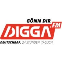 Logo of radio station DIGGA.FM
