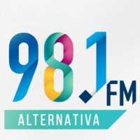 Logo of radio station Alternativa 98.1 FM