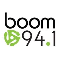 Logo of radio station CKBA-FM boom 94.1