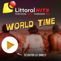 Logo of radio station LITTORAL WORLD
