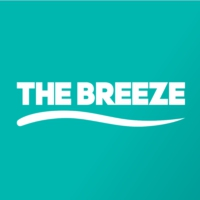 Logo of radio station The Breeze 93.4