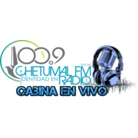 Logo of radio station SQCS Chetumal 100.9 FM