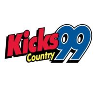 Logo of radio station WKXC Kicks 99