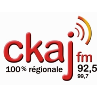 Logo of radio station CKAJ 92.5