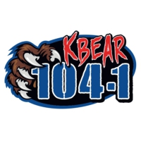 Logo de la radio KBRJ KBEAR 104.1