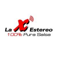 Logo of radio station La X Estereo
