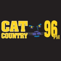Logo de la radio WCTO Cat Country 96 FM