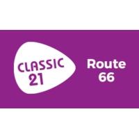Logo de la radio Classic 21 - Route 66 (RTBF)