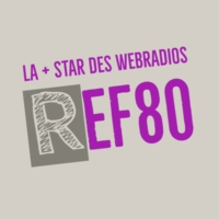 Logo of radio station REF 80
