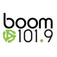 Logo de la radio CKKY-FM boom 101.9