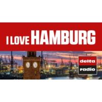 Logo of radio station delta radio - I LOVE HAMBURG