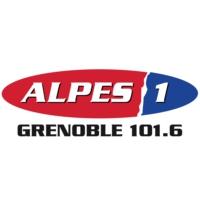 Logo of radio station Alpes 1 Grenoble
