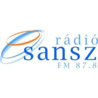 Logo of radio station Rádió Sansz