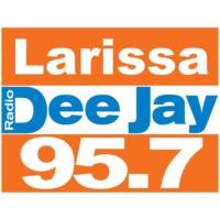 Logo of radio station 95.7 Larissa DeeJay