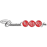 Logo of radio station CFMX-FM The New Classical 103.1 FM