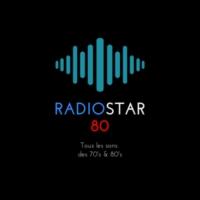 Logo of radio station RADIOSTAR80