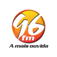 Logo of radio station Rádio 96 FM 96.5 FM Maceio, AL