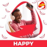 Logo de la radio Radio SCOOP - Happy
