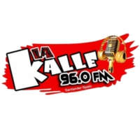 Logo of radio station La Kalle 96.0 fm