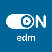 """Logo of radio station """"ON EDM"""""""