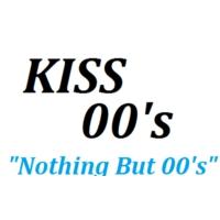 Logo of radio station KISS FM 00's