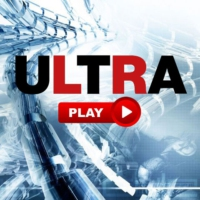 Logo of radio station UltraPlay