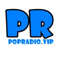 Logo of radio station POP Radio