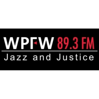 Logo of radio station WPFW 89.3 FM