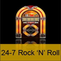Logo of radio station 24-7 Rock 'n' Roll