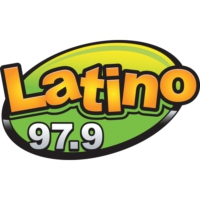 Logo of radio station KLMG Latino 97.9