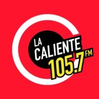 Logo de la radio XHXT La Caliente 105.7 FM