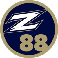 Logo of radio station WZIP Z88 Akron