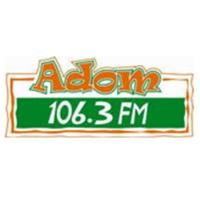 Logo of radio station Adom FM 106.3