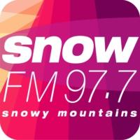 Logo of radio station Snow FM