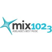 Logo of radio station Mix 102.3