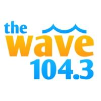Logo of radio station The Wave 104.3