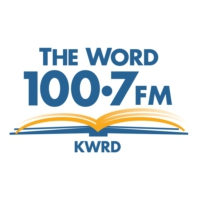 Logo de la radio KWRD The Word 100.7 FM