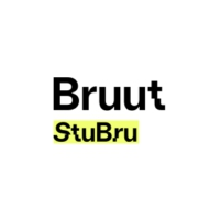 Logo of radio station StuBru - Bruut