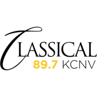 Logo of radio station Classical 89.7 KCNV