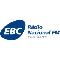 Logo de la radio Rádio Nacional FM Brasília