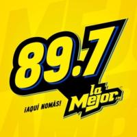 Logo de la radio XHAK  La Mejor FM 89.7