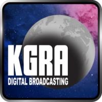 Logo de la radio KGRA Digital Broadcasting