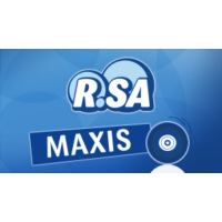 Logo of radio station R.SA Maxis Maximal