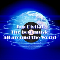 Logo of radio station Top Digital