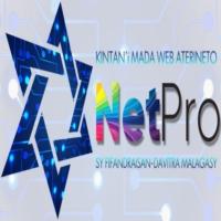 Logo of radio station NetPro Mada Radio
