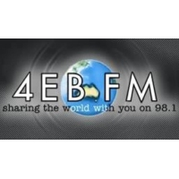 Logo of radio station 4EB FM