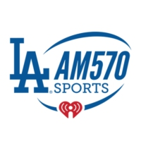 Logo de la radio KLAC AM 570 FOX Sports LA