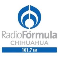 Logo de la radio XHV-FM Radio Fórmula 101.7