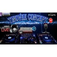 Logo of radio station tinovee concept